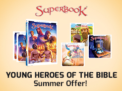 CBN com - Get the Latest Superbook DVD - Anime Animation